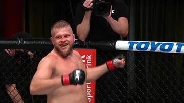 Spektakularna wygrana Marcina Tybury w UFC! Pokonał Harrisa w pierwszej rundzie