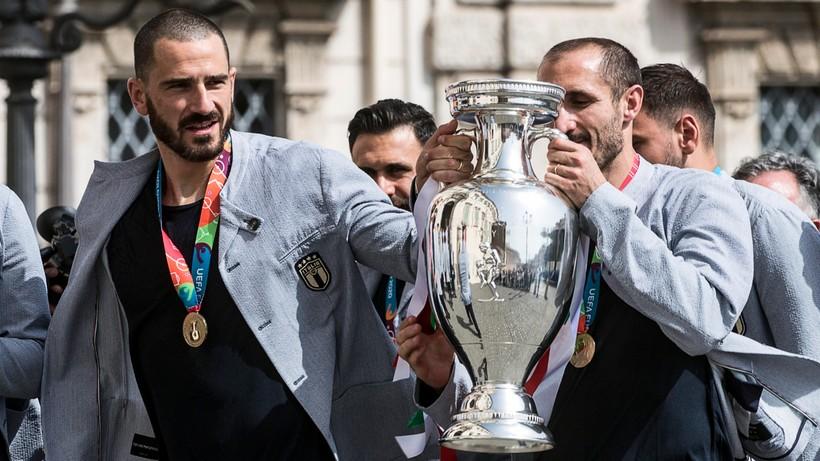 Euro 2020: Mistrzowie Europy odwiedzili prezydenta Włoch Sergio Mattarellę