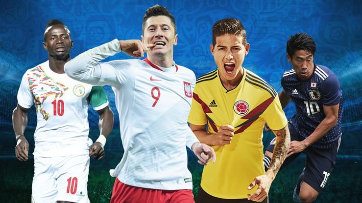MŚ 2018: Grupa H. Polska, Kolumbia, Senegal, Japonia