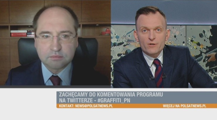 """Duże szanse na wybory w lipcu"". Adam Bielan w ""Graffiti"""