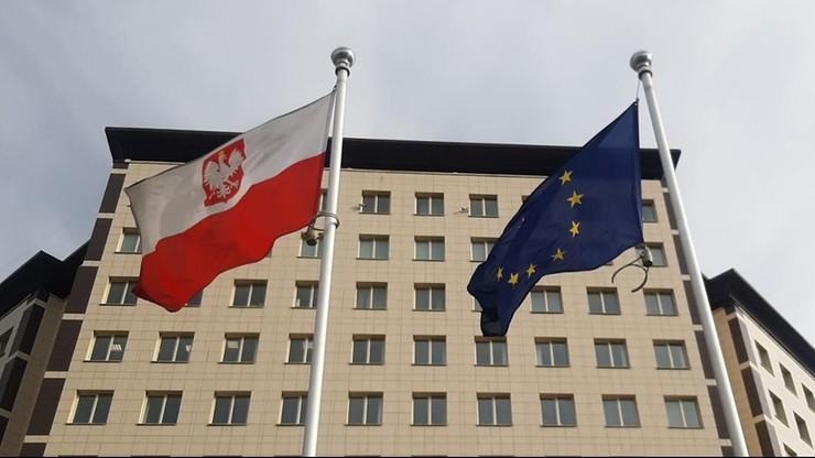 Białoruś. Wybuch w pobliżu polskiej ambasady w Mińsku