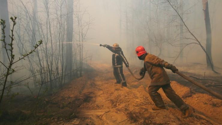 Troje dzieci zginęło w pożarze domu jednorodzinnego na Ukrainie
