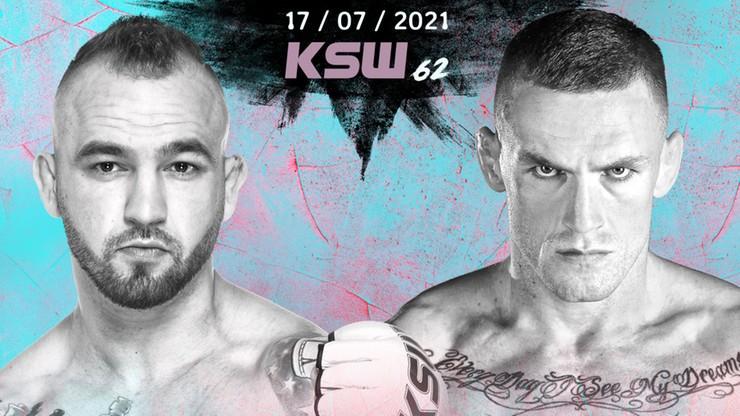 Efektownie walczący zawodnicy zmierzą się na KSW 62!