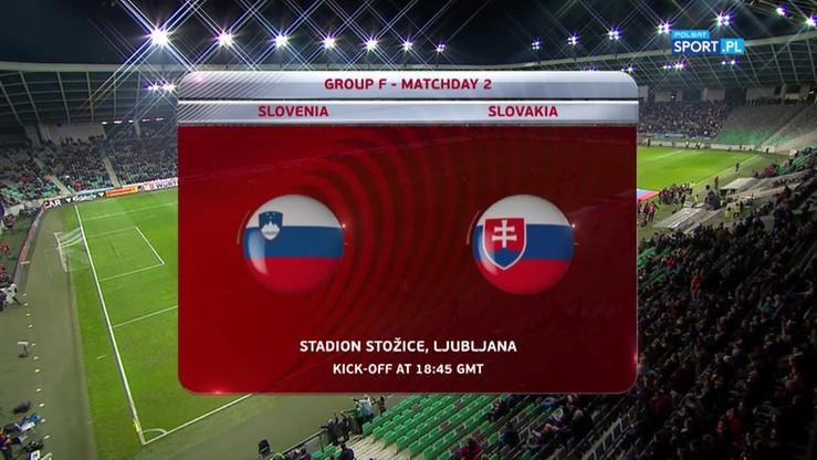 2016-10-08 Słowenia - Słowacja 1:0. Skrót meczu