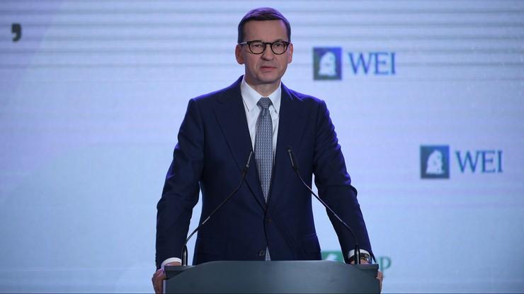 Premier Morawiecki o inwestycjach w służby: bezpieczeństwo Polaków jest dla nas najważniejsze
