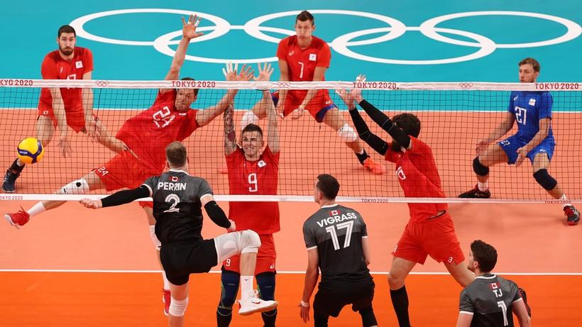 Tokio 2020: Rosjanie jako pierwsi awansowali do półfinału turnieju siatkarzy