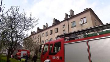Ogrodzieniec: wybuch gazu w budynku wielorodzinnym. Są poszkodowani