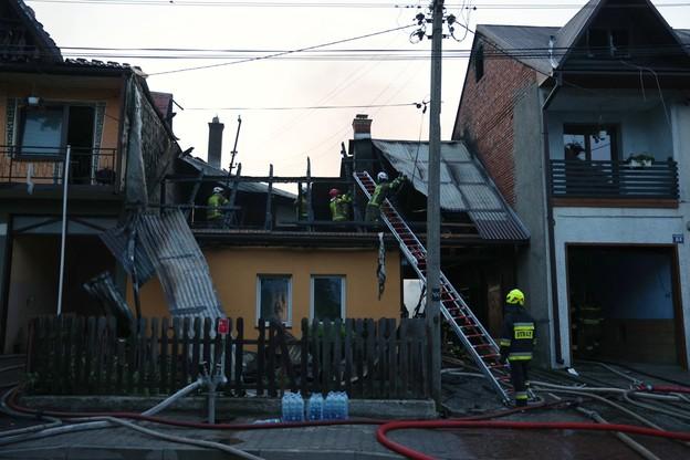 Nowa Biała po pożarze. Doszczętnie spłonęło kilkadziesiąt budynków