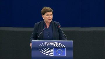 Szydło: nie wypchniecie Polski z Unii Europejskiej [ZAPIS RELACJI]