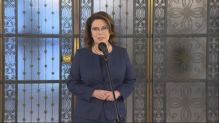 Kidawa-Błońska: cieszy mnie zapowiedź, że Tusk wraca do krajowej polityki