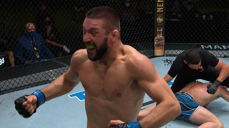 UFC: Mateusz Gamrot brutalnie znokautował rywala (WIDEO)