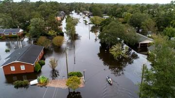 13 ofiar huraganu Florence w USA