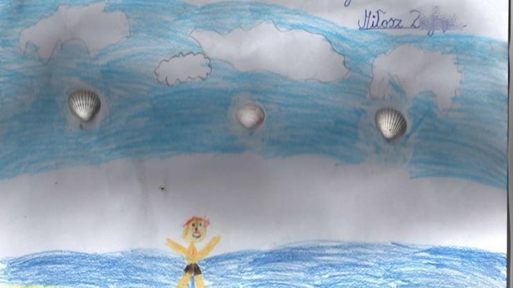Uratował tonące dziecko. W nagrodę dostał od 8-latka wyjątkowy rysunek