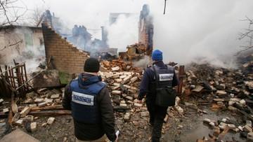 USA potępiły atak na misję OBWE na wschodzie Ukrainy