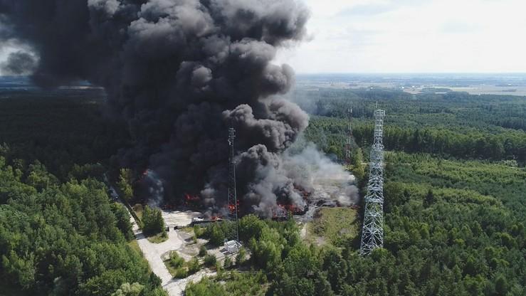Cztery osoby zatrzymane ws. pożaru składowiska w Jakubowie
