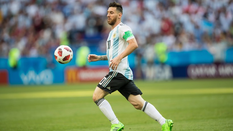 Pozostający bez klubu Lionel Messi wypoczywa na Ibizie