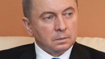 Szef MSZ Białorusi: nałożymy sankcje odwetowe na osoby z krajów bałtyckich