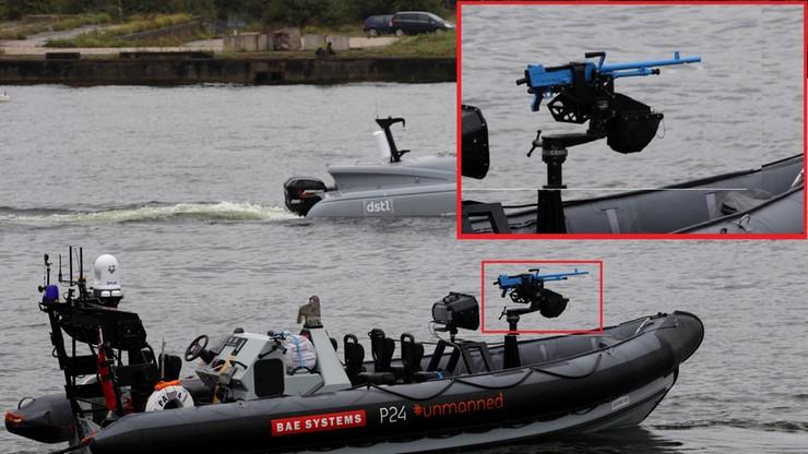 Autonomiczne łodzie z karabinami maszynowymi. Testuje je brytyjskie wojsko