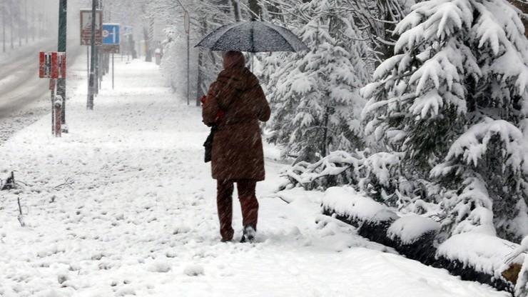 Powrót zimy. Zakopane pod śniegiem