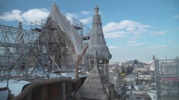 """""""Dziękujemy Polakom za przywiązanie do Notre Dame"""". Dwa lata po pożarze"""