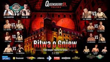 """Ważenie przed galą Queensberry Polska """"Bitwa o Gniew"""". Transmisja w Polsacie Sport Fight"""