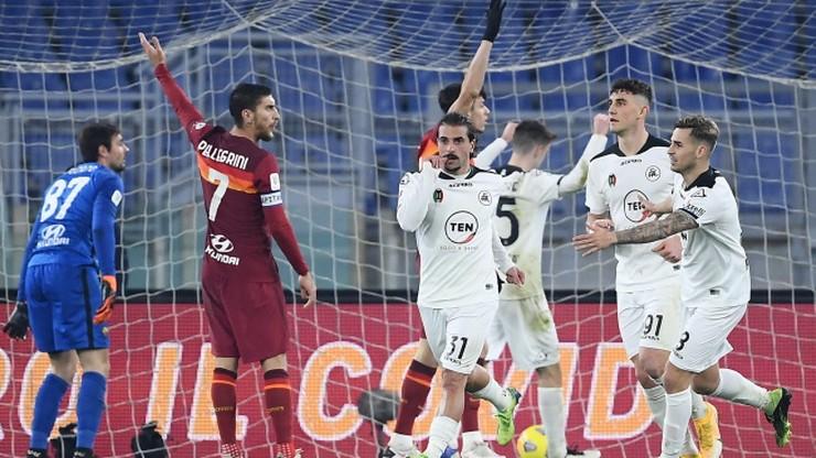 Puchar Włoch: Sensacja! Spezia wyeliminowała Romę