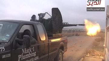 ISIS używało samochodu z… oznaczeniami firmy hydraulika z Teksasu. Otrzymał tysiąc gróźb