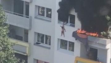 Chłopcy wyskoczyli z 3. piętra. Uciekali przed pożarem