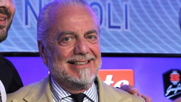 Właściciel Napoli o klęsce Włochów: Zatrudnili trenera, którego zwolniłem w Serie C