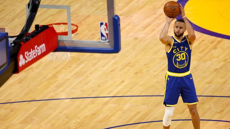 NBA: Stephen Curry wciąż sieje postrach