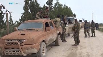 Wojsko syryjskie wkroczyło do Manbidżu kontrolowanego przez Kurdów