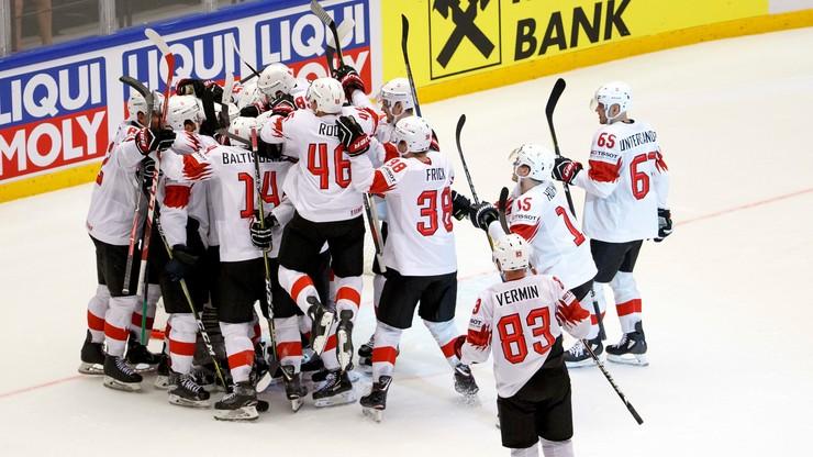 MŚ w hokeju: Szwajcaria w półfinale