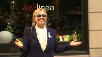 Clinton zasłabła w Strefie Zero. Spekulacje o stanie jej zdrowia