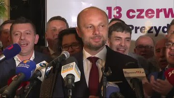 """Konrad Fijołek o wyniku wyborów prezydenta Rzeszowa: """"Dziękuję!"""""""