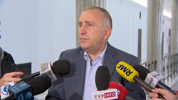 Grzegorz Schetyna skomentował obecność polityków PO na urodzinach Roberta Mazurka