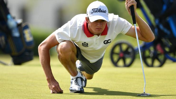 Gradecki zadebiutował w zawodowym golfie