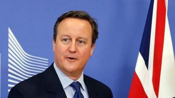 Premier Cameron przyjedzie do Warszawy. W najbliższy piątek