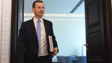 Morawiecki: moja opinia o programie 500+ była, jest i będzie bardzo pozytywna
