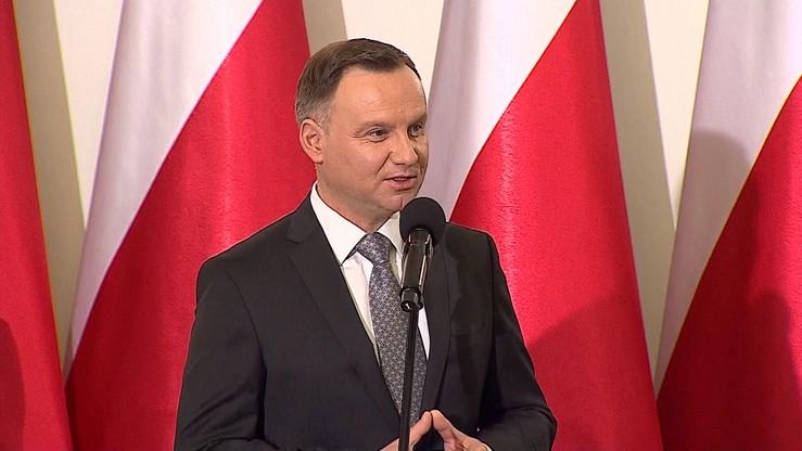 Prezydent Duda: jeśli ktoś hołduje Hitlerowi, to nie ma miejsca w polskim społeczeństwie