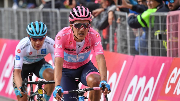 Giro d'Italia: Triumf Cimy na 18. etapie, Carapaz wciąż liderem