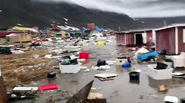 """Trzęsienie ziemi i tsunami na Grenlandii. Cztery osoby zaginione, inni """"mogli udać się na ryby"""""""