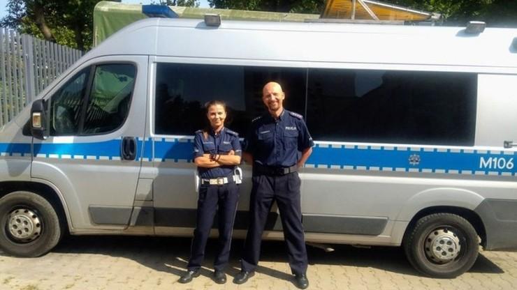 Wracając z wakacji pomogli ofierze wypadku. Policyjne małżeństwo z Polski bohaterami na Słowacji
