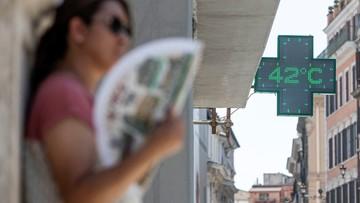 Rekordowe upały we Włoszech. Alarm w 15 miastach