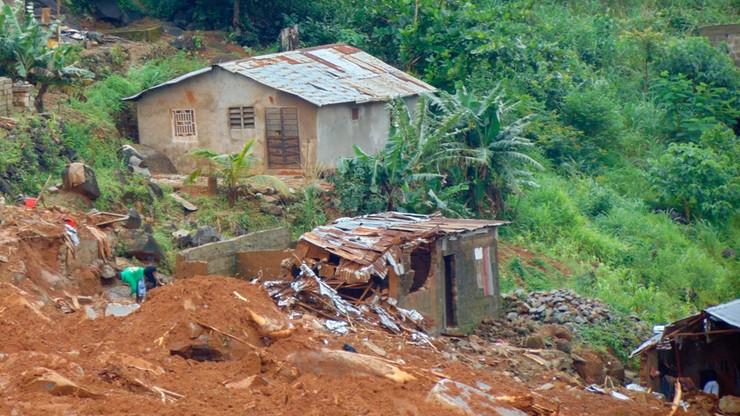 Kilkaset ofiar osuwisk i lawin błota w Sierra Leone. Co najmniej 600 zaginionych