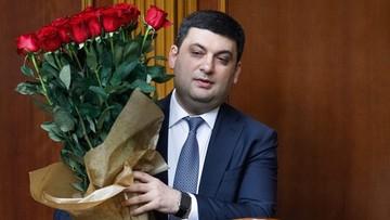 Hrojsman nowym premierem Ukrainy