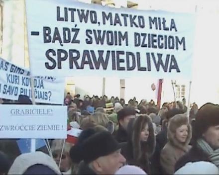 Litwa: Polskie szyldy zabronione!