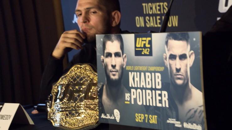 UFC 242: Khabib vs. Poirier. Transmisja w Polsacie Sport