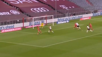 Kapitalny gol Lewandowskiego w meczu Bayernu (WIDEO)