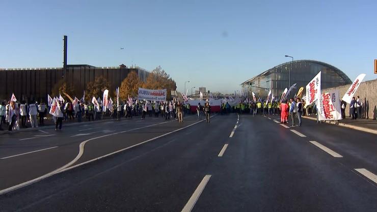 Piotr Duda: Podpalimy Europę. Protest górników z Polski przed TSUE