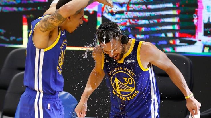 NBA: Kolejny popis Stephena Curry'ego. Phoenix Suns znów zaskoczyli